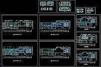 CAD某酒店大堂装修图 CAD