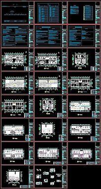 家装水电布置图CAD素材下载 室内装修设计图片