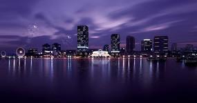 滨水城市夜景规划