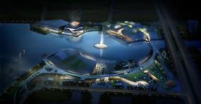 博覽館景觀規劃鳥瞰圖 JPG