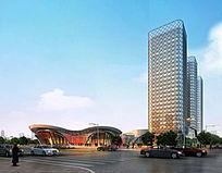 特色商业建筑 PSD