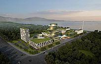 现代生态绿化建筑科技园 JPG