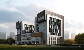 校园建筑效果图