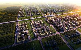 中心城镇城市功能一体化景观规划