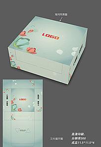 时尚小清新纸巾包装盒