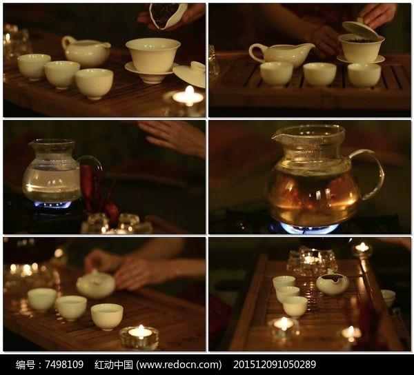 中国茶文化茶艺老外品茶视频图片