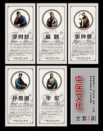 中医文化走廊挂图设计