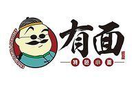 幽默创意面条logo