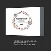时尚艺术工业品包装盒设计