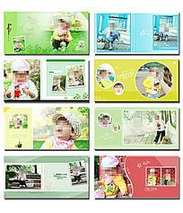 外景psd儿童模板设计 PSD