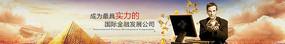 大气金融商务海报企业网站banner