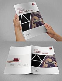 摄影器材画册封面