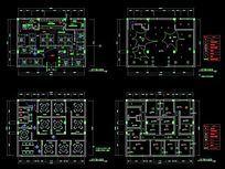 双层咖啡厅CAD平面施工节点详图