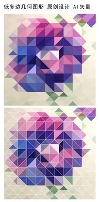 抽象立体规则图案