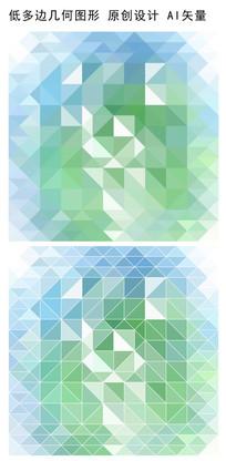 淡色立体方形抽象背景