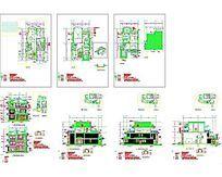 豪华别墅图建筑图