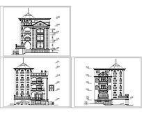经典别墅建筑图纸