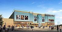 南华购物广场效果图 PSD