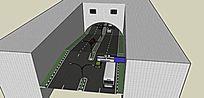 下坡公路隧道