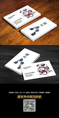 眼镜店名片设计