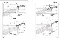驳岸结构施工图 dwg