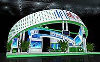 德州太阳台展厅模型