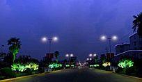 景观亮化城市路灯街道绿化带楼照明设计