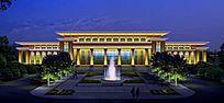 景观亮化建筑照明楼体亮化行政办公楼照明动画设计 PSD