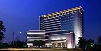 景观亮化建筑照明楼体亮化政府办公楼照明设计 PSD