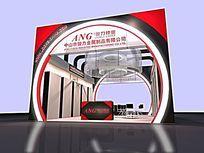 金属制品商品展厅模型