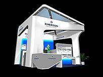 能源信息展览馆模型