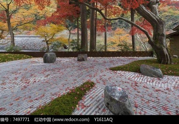 日式地面铺装图片