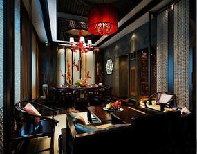 中式酒店包厢