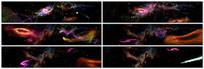 穿越星河宇宙舞台背景视频