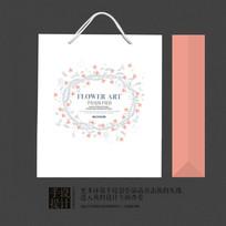 艺术花纹创意儿童礼品包装手提袋