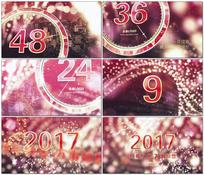 跨年元旦新年倒计时60秒AE模板