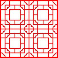 传统中式景观装饰图案