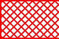 方格子镂空装饰元素
