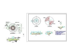 广场喷泉施工详图