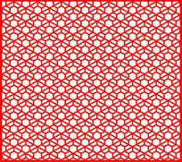 好看的六边形格子元素装饰图案