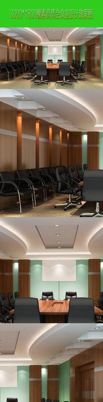 会议室高清效果图下载