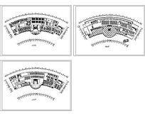 客运站总体设计方案平面CAD图纸