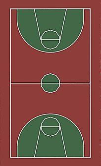 篮球场贴图 JPG