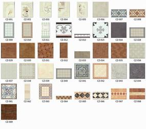 素雅瓷砖贴图