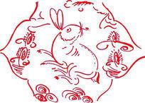 小动物图案CAD