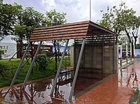 休闲遮阳挡雨棚意向 JPG