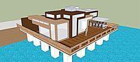 滨水水景别墅设计