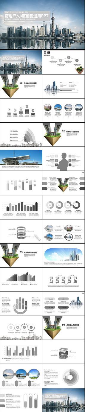 房地产营销销售策划方案ppt模板