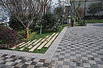 小广场空间铺装意向 JPG