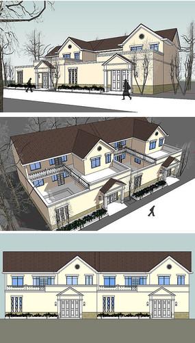 新农村建论,��^��ih_新农村规划的新古典单体建su模型